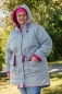 Preview: Ebook Big Lady Neve Herbst/Winter Parka für Damen Plus Size Gr. 46-58
