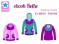Preview: Ebook Jacke Sweatjacke Bella Gr.74/80-158/164