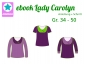 Preview: Ebook Damenshirt Lady Carolyn Gr.34-50