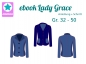 Preview: Ebook Sweatblazer Lady Grace Gr. 32-50