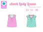 Preview: Ebook Sommershirt Lady Leana Gr.32-46