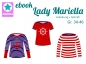 Preview: Ebook Damenshirt Lady Mariella Gr. 34- 46
