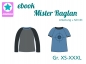 Preview: Ebook Raglanshirt Mister Raglan Gr. XS-XXXL