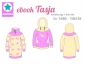 Mobile Preview: Ebook Hoodie und Sweatkleid Tasja 74/80-158/164