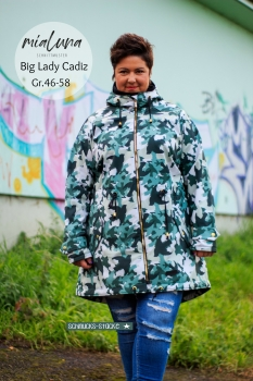 Ebook Schnittmuster Big Lady Cadiz Softshell Parka/Mantel Gr. 46-58