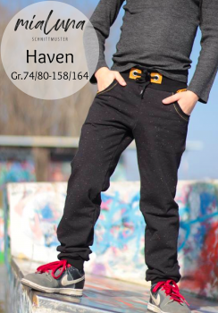 Ebook Unisex Sweathose Haven Gr.74/80-158/164