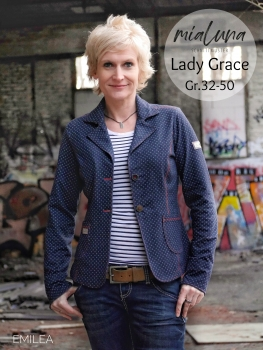 Ebook Sweatblazer Blazer Lady Grace Gr. 32-50