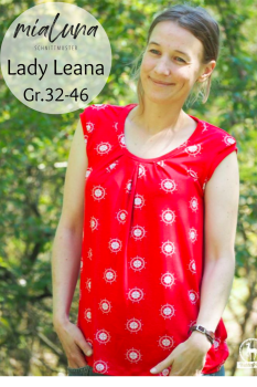 Ebook Sommershirt Shirt Lady Leana Gr.32-46