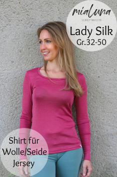 Ebook Lady Silk Shirt Basic Shirt für Wolle/Seide Jersey Gr. 32-50
