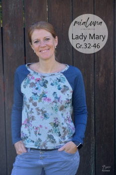 Ebook Lady Mary legeres Raglanshirt und Pulli für Damen Gr. 32-46