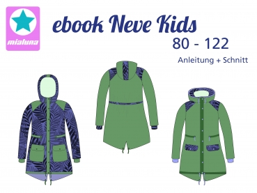 Ebook Herbst-Winter Parka Neve Kids Gr. 80-122