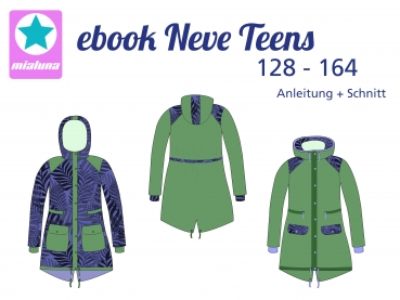 Ebook Herbst-Winter Parka Neve Teens Gr. 128-164