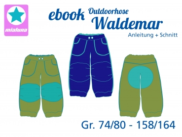 Ebook Outdoorhose Waldemar Gr.74/80-158/164