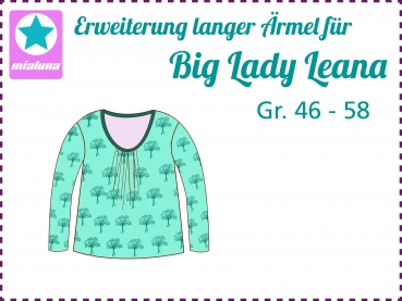 Add on Lange Ärmel zu Big Lady Leana Gr. 46-58