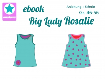 Ebook Damen Sommer Top Big Lady Rosalie Gr. 46-56