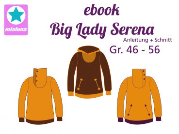 Ebook Sweatpulli Big Lady Serena Gr. 46-56