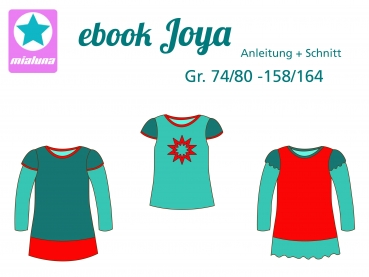 Ebook Tunika Shirt Joya Gr.74/80-158/164