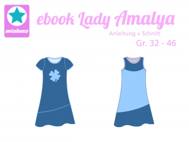 Ebook Sommerkleid Lady Amalya Gr.32-46