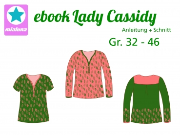 Ebook Damen Bluse Lady Cassidy Gr. 32-46