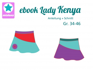 Ebook Damen Rock Lady Kenya Gr. 34-46