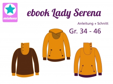 Ebook Sweatpulli Lady Serena Gr. 34-46