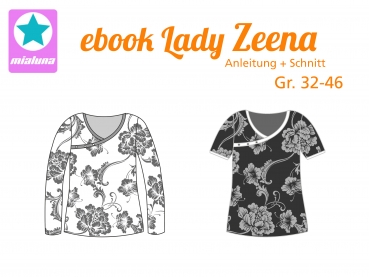 Ebook Damen Shirt Lady Zeena Gr. 32-46