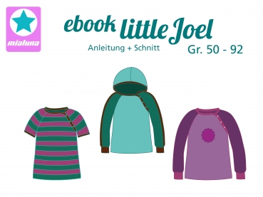 Ebook Raglanshirt little Joel 50 - 92