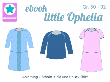 Ebook Kleid und Shirt little Ophelia Gr. 50-92