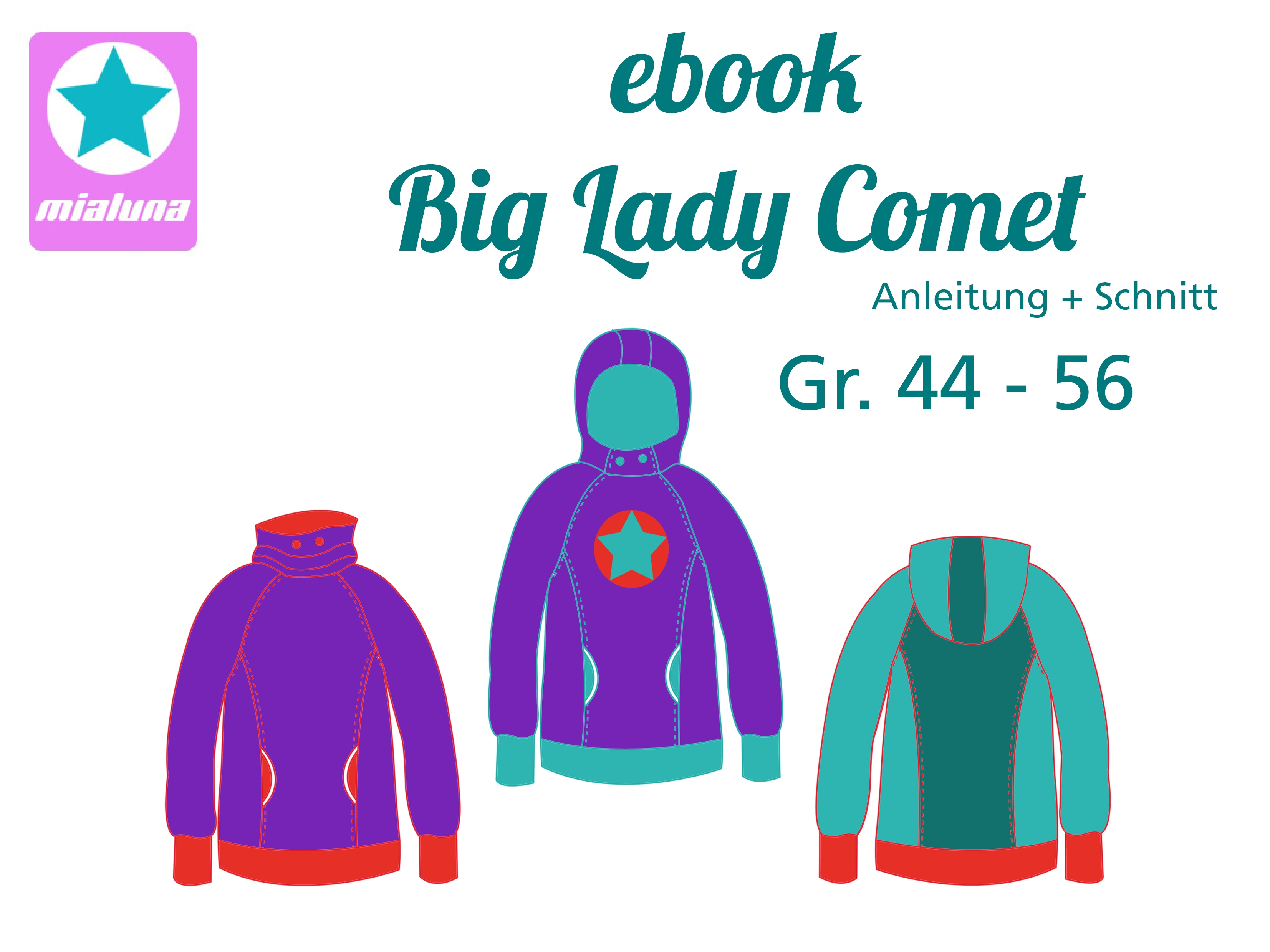 Schnittmuster Anleitung Hoodie Gr - Evelocal