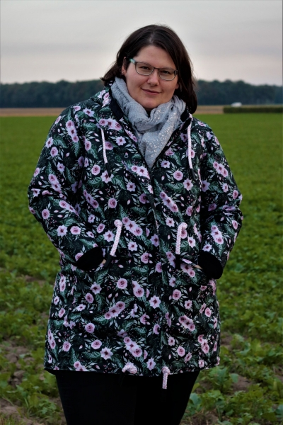 Ebook Big Lady Neve Herbst/Winter Parka für Damen Plus Size Gr. 46-58