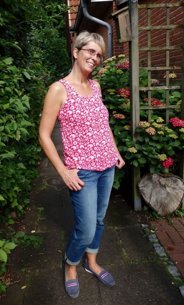Ebook Damen Top Lady Topas Gr. XS - XXL