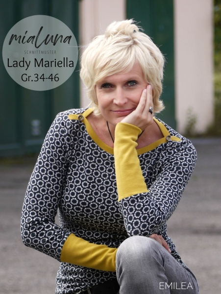 Ebook Damenshirt Lady Mariella Gr. 34- 46