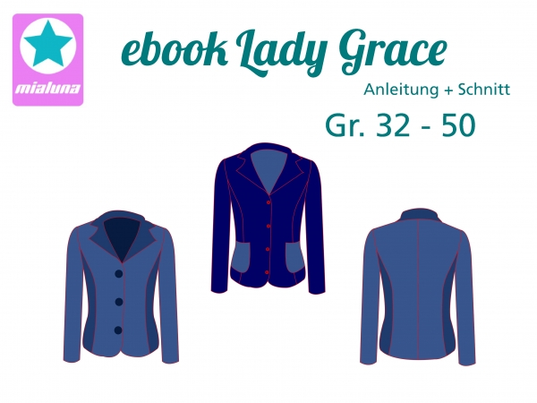 Ebook Sweatblazer Lady Grace Gr. 32-50