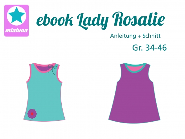 Ebook Damen Sommer Top Lady Rosalie Gr. 34-46