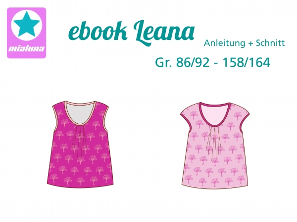 Ebook Sommershirt Leana Gr.86/92 - 158/164