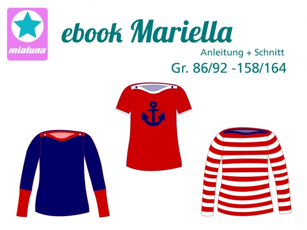 Ebook Shirt Mariella Gr. 86/92- 158/164