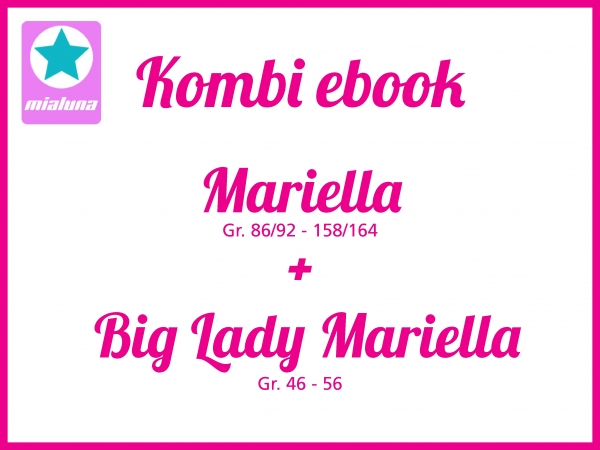 Kombi Ebook Mariella + Big Lady Mariella