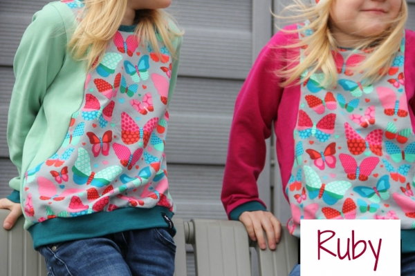 Ebook Sweatshirt Ruby Gr.74/80-158/164