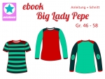 Ebook Damen Shirt Big Lady Pepe Gr.46-58