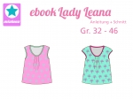 Ebook Sommershirt Lady Leana Gr.32-46