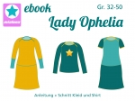 Ebook Kleid und Shirt Lady Ophelia Gr. 32- 50