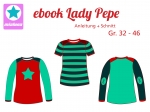 Ebook Damen Shirt Lady Pepe Gr.32-46