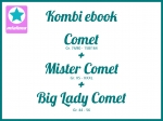 Kombi Ebook Comet + Mister Comet +Big Lady Comet